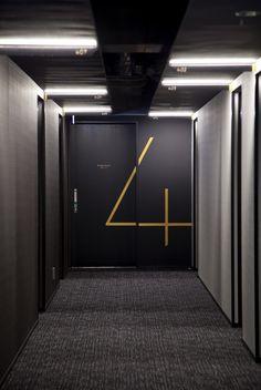 hotel risveglio akasaka / branding + sign design + art                                                                                                                                                     More