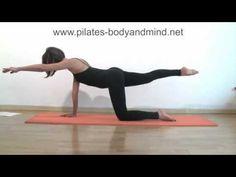 Pilates - Esercizi per Rassodare e Tonificare le Gambe - YouTube