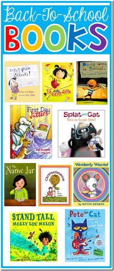 Read Alouds for Beginning of the Year