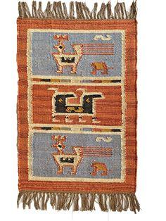 Kilim Rug Birds Wool Jute Indian 60x90cm 2x3' Kelim Maroon Blue Black Handmade | eBay