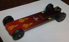 Fast Pinewood Derby Cars