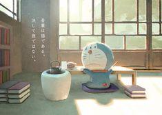 """""""吾輩は猫である #世界猫の日 #ドラえもん #藤子・F・不二雄 #Illustration"""""""