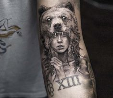 Wild Girl tattoo by Niki Norberg