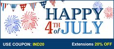 USA Independence day offer. 20% for #magento extensions at https://mage-extensions-themes.com/top-rated-magento-extensions-2017.html. Use coupon IND20 in cart page.