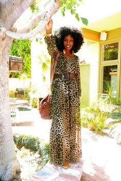"Brown+Leopard+Maxi+Dresses+|+""Leopard+Affair""+by+StylePantry"
