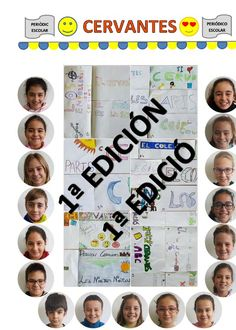 Experiencia práctica sobre un modelo de periódico escolar realizado por alumnos de 5º de Primaria del CEIP Cervantes de Santa Pola (Alicante).
