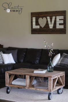I like the wood art fixture on the wall