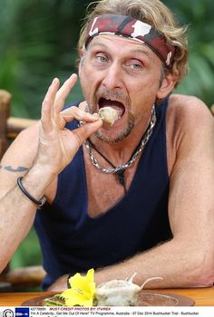 Disgusting: Foggy's final Bushtucker Trial was perhaps the worst - and involved eating ostrich anus