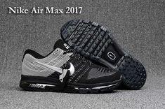 Nike Air Max 2017 Hot Running Shoes For Men Black Gray