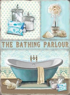 Retro Bathroom Signs Uk bath soak unwind metal sign nostalgic vintage retro advertising