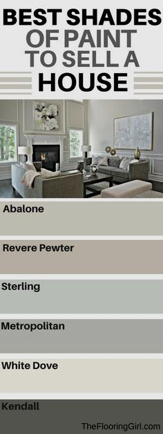 Top shades of paint to use when you are selling a house. Best paint colors, brands, and finishes to sell your home. Westchester County NY.
