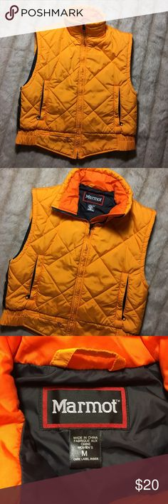 Marmot Quilted Lightweight Down style Vest Jacket Size women's medium - excellent condition Marmot Jackets & Coats Vests