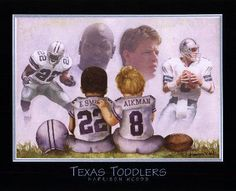<3 Troy Aikman & Emmitt Smith <3 Have this pic