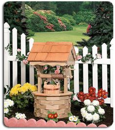 Wishing Well Lawn Ornaments Handcrafted Designs.