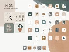 Iphone Home Screen Layout, Iphone App Layout, Iphone App Design, Ios Design, Design Apps For Ipad, Hacks Iphone, App Iphone, Iphone Wallpaper Ios, Ipad Ios