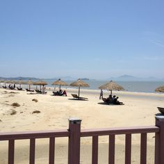 Ujeong beach in jeung island, S. Korea