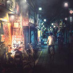 Japan Takaaki Ito Captures Cyberpunk Tokyo In Dark And Moody Neon Urban Photography, Street Photography, Light And Shadow, Cyberpunk, Tokyo, Neon, Japan, Explore, Dark
