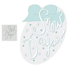 42/365 • Snow Days! • Hand lettering 365 amandamcdesigns.com Hand lettered original design! Sketched with pencil and recreated in Illustrator exploring creativity, color, and design elements. © Amanda McIntosh. All rights reserved. #design #graphicdesign #graphicdesigner #typography #handlettering #handwriting #art #create #365 #project365 #artist #illustration #illustrator #amandamcdesigns #handdrawntype #lettering #marketing #snowdays #snow