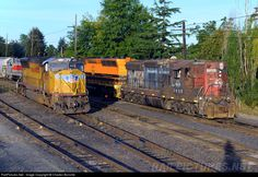 RailPictures.Net Photo: PNWR 1852 Portland & Western Railroad EMD SD9 at Albany, Oregon by Charles Bonville