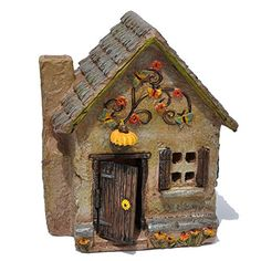 Miniature Fairy Garden Sunflower Farm Cottage >>> Wow! I love this. Check it out now! : Gardening Supplies