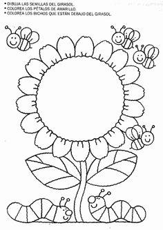 Actividades para niños preescolar, primaria e inicial. Fichas para niños para imprimir con dibujos para relacionar y pintar. Relacionar y Pintar. 37