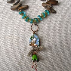 Art Bead Scene Blog: Free project - Summer Falls necklace