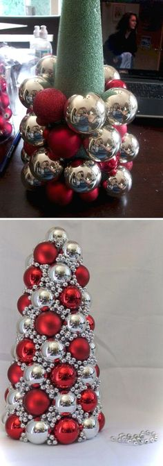 holiday diy DIY your Christmas gifts this year with GLAMULET. they are compatible with Pandora bracelets. 20 Great Ways To Decorate Your Home With Christmas Ornaments - Styletic Diy Christmas Decorations Easy, Diy Christmas Gifts, Winter Christmas, Christmas Home, Holiday Crafts, Christmas Wreaths, Christmas Ornaments, Ornaments Ideas, Christmas Ideas