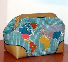 Carpet Bag als Kulturbeutel Carpet Bag, Lunch Box, Lobster Clasp, Bags, Toiletry Bag, Bento Box