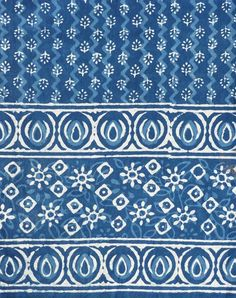 Your place to buy and sell all things handmade Diy Bed Sheets, Dabu Print, Tribal Fabric, Batik Pattern, Indian Block Print, Diy Headboards, Textile Patterns, Textiles, Border Design