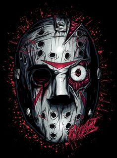 Jason ~ Slashers by Aleksandr Poltavskiy, via Behance
