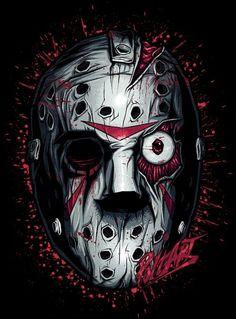 Jason ~ Slashers by Aleksandr Poltavskiy, via Behance