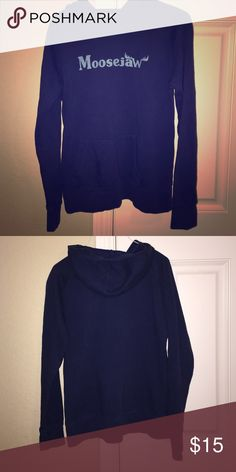Moosejaw Hoodie Navy blue hoodie. Other