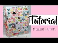 Os dejo un tuto muy chulo para hacer un bonito cuaderno o si preferís cambiando las hojas por hojas decoradas podréis hacer un miniálbum. Así que espero que ... Photo Album Scrapbooking, Scrapbook Albums, Scrapbook Cards, Mini Albums, Agenda Planner, Mini Album Tutorial, Pocket Letters, Stamping Up, Mini Books