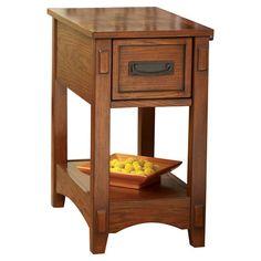 Found it at Wayfair - Castle Hill Chairside Table http://www.wayfair.com/daily-sales/p/Cabin-Comforts%3A-Rustic-Style-Shop-Castle-Hill-Chairside-Table~GNT2436~E21374.html?refid=SBP.rBAZEVUv7WYJX1c6MDdeAtFML_6dvktAqaSAVdLdY5k