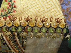 I ❤ embroidery . . . CQ seam treatment ~By Lin Moon