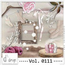 Vol. 0111 - Winter Mix  by Doudou's Design  #CUdigitals cudigitals.comcu commercialdigitalscrapscrapbookgraphics #digiscrap