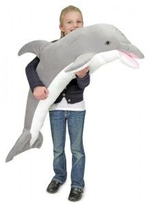Win this Beautiful Huge Plush Dolphin, a $45 Value.  Click Now and Enter! http://goo.gl/PfWp0r