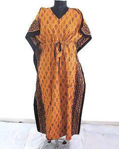 New African Women Kaftan Dress Dashiki Boho Maxi Gown One Size Plus Caftan Dress