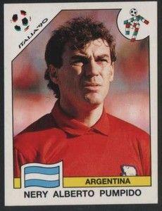 Nery Pumpido - Argentina Uefa Football, Football Icon, World Football, Football Fans, Football Players, Football Stickers, Fifa World Cup, Retro, Messi