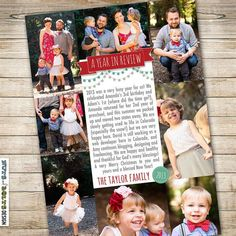 Image result for photo collage christmas letter