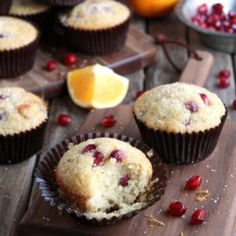 Pomegranate Orange Muffins « Go Bold with Butter