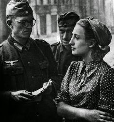 UNCENSORED HISTORY: Dark Chapters Of History: Images Of War, History , WW2: Rape By German And Waffen SS Soldiers During WW2