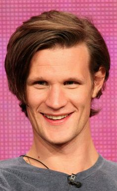 Matt Smith (Eleven) HOW DO YOU KEEP YOUR HAIR SO PERFECT WHAT IS YOUR SECRET ----- We're all thinking it.