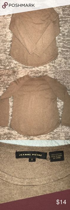 Cozy Brown Sweater S