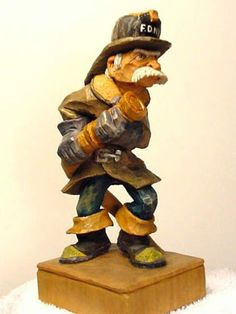 Caricature Carvers of America: Bios: Peter Ortel