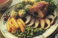 Roast Loin of Pork with Prunes and Sloe Gin