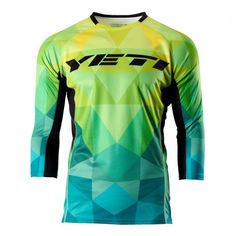 7a22601a3 16 color YETI Downhill Cycling Jerseys Custom Cycling DH Downhill MTB BMX  Jerseys 2016 new color Motorcycle Motocross Clothing