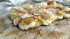 Bougatsa Recipe, Greek Appetizers, The Kitchen Food Network, Puff Pastry Desserts, Greek Sweets, Breakfast Snacks, Sweet Tarts, Greek Recipes, Soul Food
