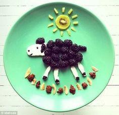 De boterhammen en andere eetbare creaties van Ida Frosk zien er wel erg appetijtelijk uit. Ida…