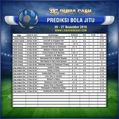 LigaIndonesia Menyajikan Prediksi Bola 26 - 27 November 2019
